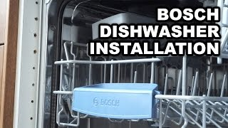 Download Video instructions for installing Bosch Built-in Dishwashers Video