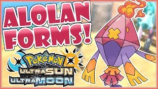 Download Top 5 AWESOME Alolan Forms for Pokemon Ultra Sun & Ultra Moon! [FANART] Video