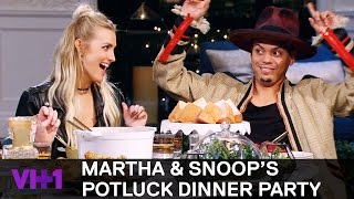 Download Ashlee Simpson & Evan Ross Talk Family w/ Snoop Dogg | Martha & Snoop's Potluck Dinner Party Video