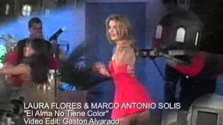 Download LAURA FLORES & MARCO ANTONIO SOLIS El Alma No Tiene Color Video