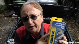 Download How To Restore Car Headlights with Scotty Kilmer Video