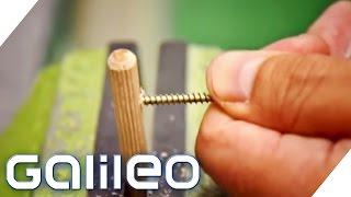 Download Superschrauben auf der Spur - Geheimnisse der Schrauben-Herstellung | Galileo | ProSieben Video