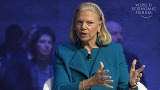 Download Ginni Rometty: It Should Be Augmented Intelligence, Not Artificial Video