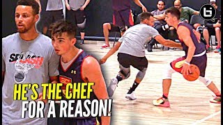 Download Jordan McCabe CROSSES Steph Curry Then Scores On Him! Steph Says CHALLENGE ACCEPTED! Video
