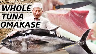 Download Tuna Master Kuniaki Yoshizawa Serves an Entire Omakase out of Bluefin Tuna — Omakase Video
