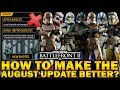 Download HOW TO MAKE THE AUGUST UPDATE BETTER? Star Wars Battlefront 2 Video