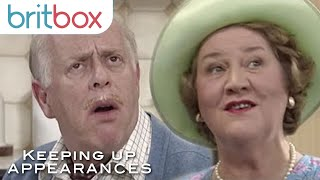 """Download """"I Will Not Have You Being Unfaithful To My Hats!""""   Keeping Up Appearances   BritBox Video"""