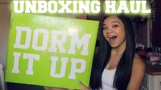 Download UNBOXING Haul- Dorm It Up! Video