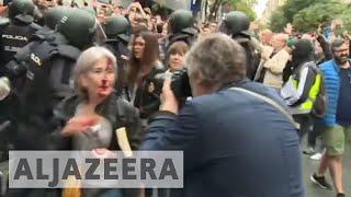 Download Catalonia referendum: 'Spanish authorities are the criminals' Video