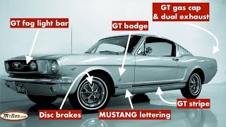 Download Mustang GT verification (1965 - 1966) - MyRod Video