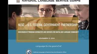 Download The National Language Service Corps Can Fulfill Your Translation Needs Video