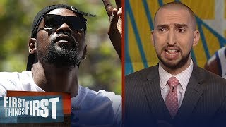 Download Nick Wright on why Kevin Durant staying on Warriors is not a done deal   NBA   FIRST THINGS FIRST Video