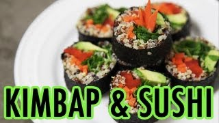 Download Difference between Kimbap and Sushi? (KWOW #82) Video