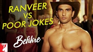 Download Ranveer vs Poor Jokes | Behind The Scenes | Befikre | Ranveer Singh | Vaani Kapoor Video