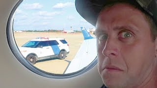 Download PULLED OVER IN PRIVATE JET!! Video