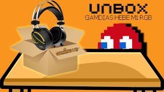 Download Hardware Unboxing: GAMDIAS HEBE M1 RGB 7.1 Virtual Surround Sound Gaming Headset Video