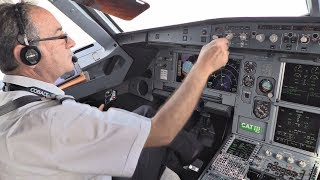 Download Cobalt Air Airbus A319 | Cockpit Flight Zurich-Larnaca | Cockpit View from Takeoff to Landing! Video