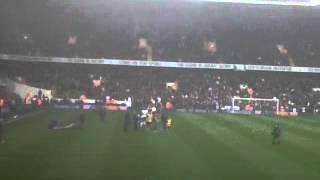 Download Paul Robinson's reception at White Hart Lane : Tottenham Hotspur v Blackburn Rovers Video