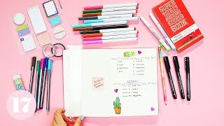 Download Essential Supplies For Beginning a Bullet Journal | Plan With Me Video