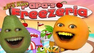 Download Annoying Orange & Pear - Papa's FREEZERIA Video