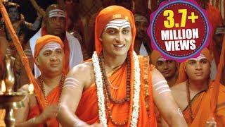 Download Jagadguru Adi Shankara Scenes || Argue Between Maṇḍana Miśra Jagadguru Adi Shankara - Sai Kumar Video