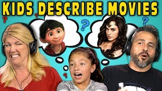 Download CAN PARENTS GUESS MOVIES DESCRIBED BY KIDS? #2 (React) Video