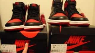 Download 2013 Air Jordan 1 Bred Hi OG: Real vs. Fake Video