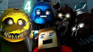 Download Five Nights At Freddy's 4 IN MINECRAFT [3D Minecraft Animation] FNAF 4 Video