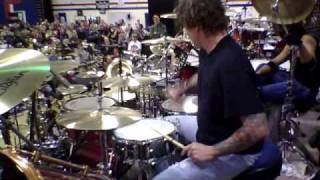 Download Steve Moore (The Mad Drummer) Solo at Woodstick 2010 Video