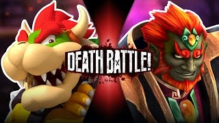 Download Bowser VS Ganon (Mario VS Zelda) | DEATH BATTLE! Video