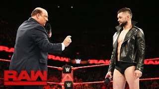 Download Paul Heyman places Finn Bálor above the rest for Extreme Rules Fatal 5-Way: Raw, May 22, 2017 Video