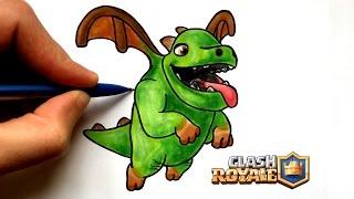 Dessin esprit de glace clash royale free download video - Dessin bebe dragon ...