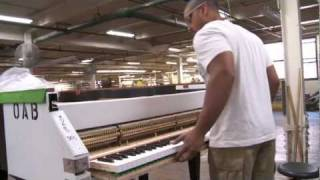Download The Making of a Steinway - A Steinway & Sons Factory Tour Narrated by John Steinway Video