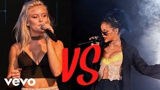 Download Zara Larsson VS Rihanna - Vocal Battle (Their best vocals) Video