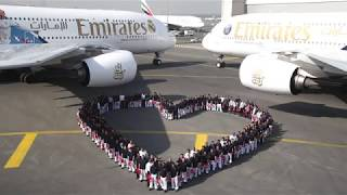 Download Emirates shares the love with Real Madrid and Paris Saint-Germain for Valentine's Day Video