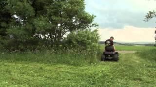 Download MTD Rasentraktor Black Edition als Hochgrasmäher 200/107 Twin Video