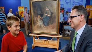 Download This Boy He Bought A Painting For $2 – But Couldn't Believe When He Heard How Much It Was Worth Video