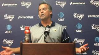 Download Jeff Fisher discusses Rams 49-21 loss to the Saints Video