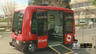 Download Automated Shuttle Gets License To Operate At Bishop Ranch Video