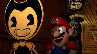 Download Mario And The Ink Machine Chapter 1: Ink Boat Bendy Video