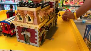 Download LEGO Disney Train & Station 71044 being built in a LEGO Store! Video