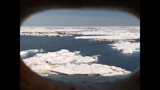 Download View From Icebreaker Crossing Northwest Passage Video