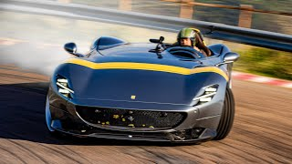 Download Racing the €1.7M Ferrari Monza SP1 in Maranello  Nico Rosberg Video