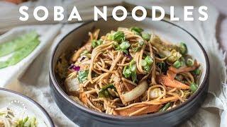 Download 3 SOBA NOODLE Recipes 🍜Delish Noodle Series Video