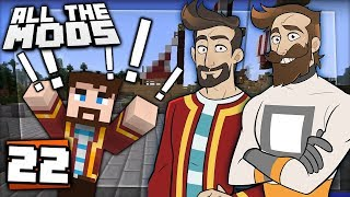 Download Minecraft All The Mods #22 - Too Many Mods Video