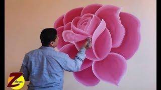Download طريقة رسم وردة مع استنسل Video