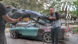 Download UNBREAKABLE BODY KIT for the LS3 S13 240SX Video