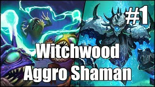 Download [Hearthstone] Witchwood Aggro Shaman (Part 1) Video