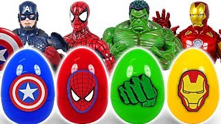 Download It's a dinosaur! If you touch Marvel Avengers surprise egg, turn into Hulk, Spider Man! - DuDuPopTOY Video