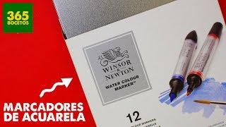 Download MARCADORES DE ACUARELA DE WINSOR AND NEWTON - MIS MATERIALES DE ARTE Video